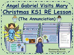 Christmas RE lesson KS1 - Angel Gabriel Visits Mary