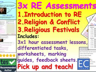 RE Assessment Pack KS3