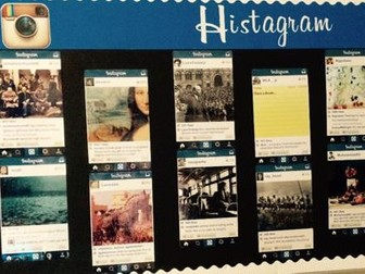 Histagram classroom display template and significance task
