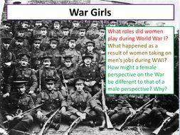 Jessie Pope War Girls