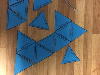 GCSE PE New OCR Spec Components of Fitness (1.2.a) Tarsia Triangle Puzzle