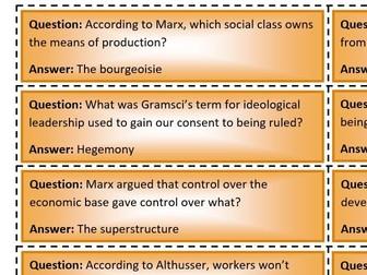 Quiz quiz trade: Marxism (AQA Sociology)