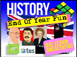End of Year History Pack