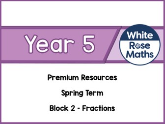 Year 5 - Fractions