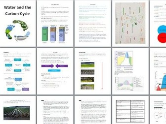 AQA A Level Water and Carbon Cycles Revision Booklet