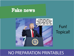 Fake news? KS3 Lesson