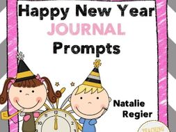 Happy New Year Journal: 25 Journal Writing Prompts