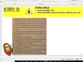 Year 5/6: Whole Class Reading - Land of Roar 28-29 - retrieval of techniques