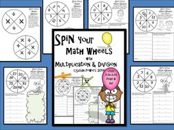 Spin Your Math Wheels with Multiplication and Division