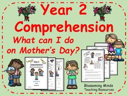 What can I do on Mother's Day? - SATs comprehension - Year 2