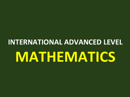 Mechanics 3 A Level Mathematics PowerPoint Bundle