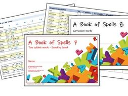 Phonics for SEN: Advanced Spelling Practice Books