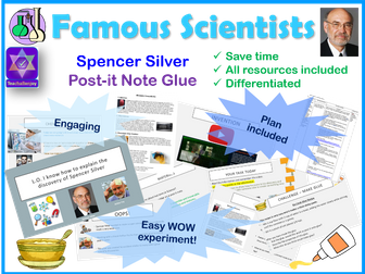 Spencer Silver Year 5 Science Lesson Plan and Powerpoint