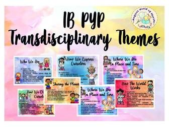 IB PYP TD Theme