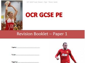 New OCR GCSE PE Revision Bundle