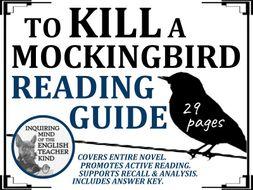 To Kill a Mockingbird Reading Guide & Answer Key