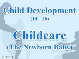 2.4 Child Development - Childcare - Newborn Baby