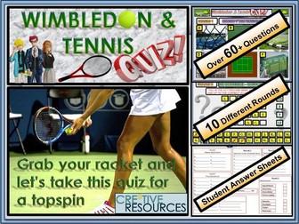 Wimbledon Tennis Quiz