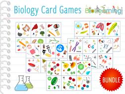 Biology  - 7x Card Games (KS3/KS4)