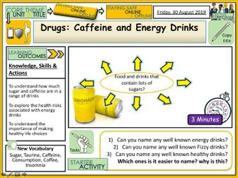 Energy Drinks - Sugar + Caffeine