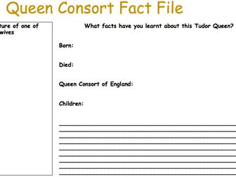 Queen Consort Fact File