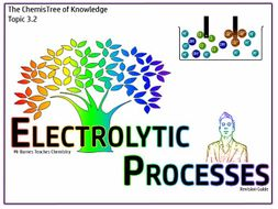 Topic 3 - Electrolytic Processes Revision Guide GCSE