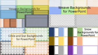 Backgrounds for PowerPoint Bundle