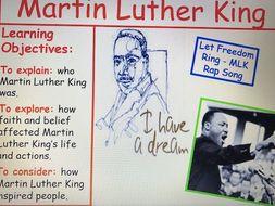 KS3 RE Key Religious Figures - Lesson 4 Martin Luther King
