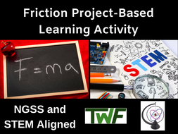 Friction Safety Physics Project Based Learning Activity (PBL)