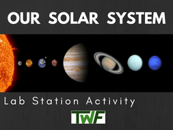 Our Solar System Lab Station Activity