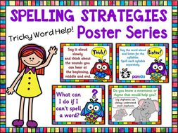 SPAG | Spelling Strategies | Reference Posters