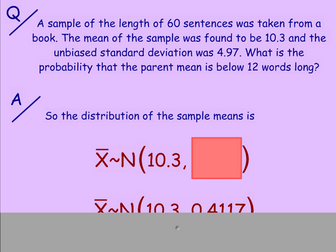 Central Limit Theorem and Confidence Intervals