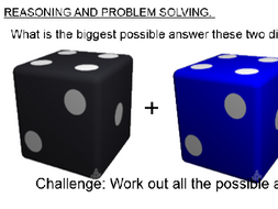 Dice Game for Number Bonds 6-10