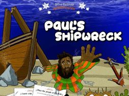 Paul's Shipwreck Activity Book for Beginners