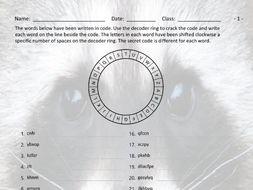 Animals Decoder Ring