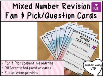 Number Revision (Fan and Pick)