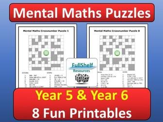 Mental Maths Activities Year 5 / 6