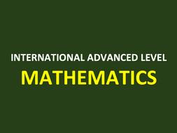 Statistics 3 A Level Mathematics PowerPoint Bundle