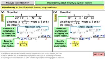 7.3h-Simplifying-algebraic-fractions.pptx