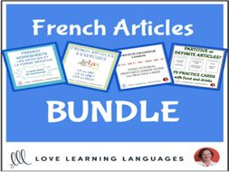 French Articles - BUNDLE