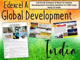 Edexcel A Global Development SOW