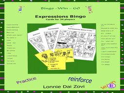 Basic Expressions Bingo in Many Languages