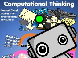 Application of Computational Thinking: Coding Classic Games