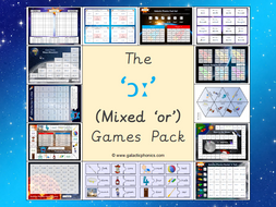 The Mixed 'or' (ɔː) Phonics Games Pack