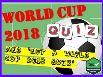 World Cup 2018: World Cup 2018 Quiz