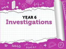 Maths Investigations: Year 6 - Summer Term - White Rose Maths