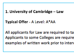 Top 10 Universities to Study Law