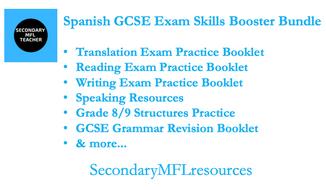 GCSE Spanish: Exam Skills Booster Bundle
