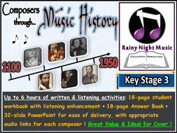 Music History Activities COMPOSERS