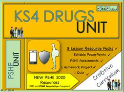 KS4 Drugs Education Unit - PSHE